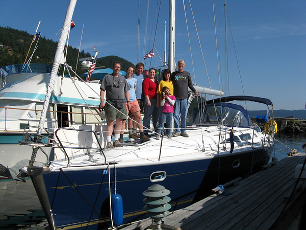Sailing the San Juan Islands 2009